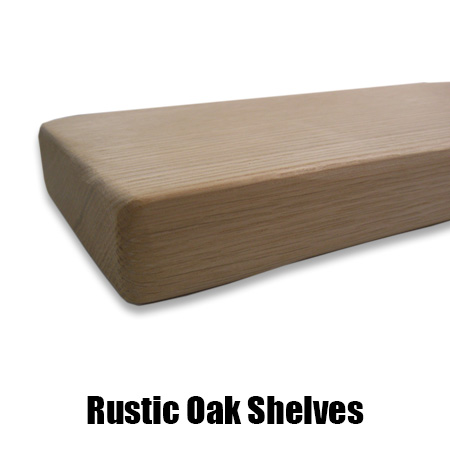 quality design 08249 cfda4 Rustic Oak Shelves various widths and thicknesses