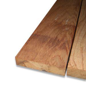 sawn cedar