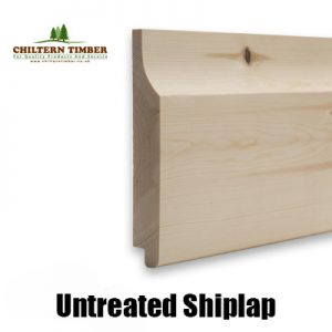 shiplap untreated new