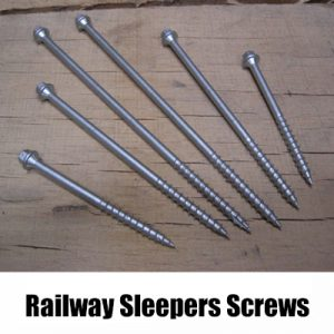 Railway Sleeper Screws
