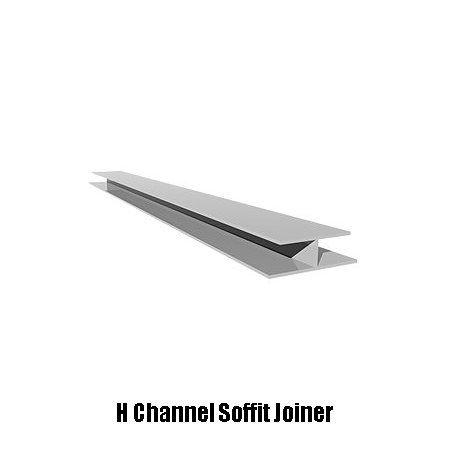 soffit joiner H channel