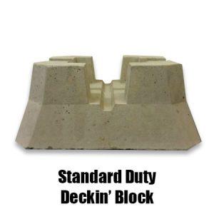 standard duty deckin' block