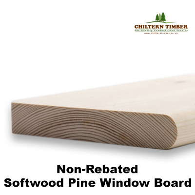 Softwood window sill