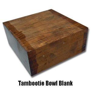 tambootie bowl blank