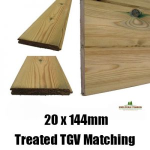 treated 20 x 144 tgv