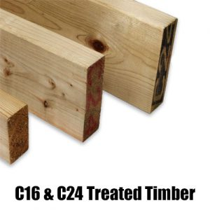 Sawn & Treated C16/C24 Softwood Joists Suppliers