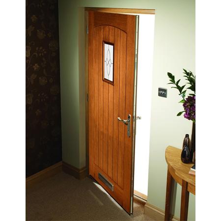 External door oak triple glazed cottage m t chiltern for Triple glazed doors