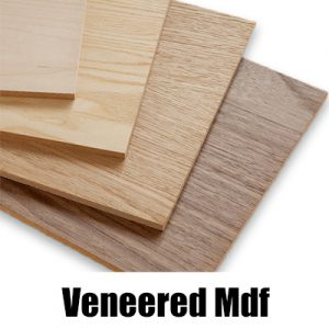 Realwood Veneered MDF (including Oak, Walnut) Suppliers