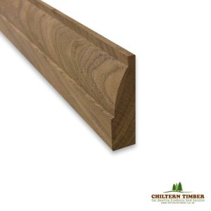 walnut ovolo architrave