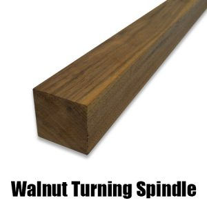 walnut turning spindle
