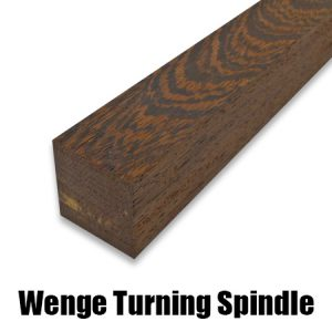 wenge turning spindle