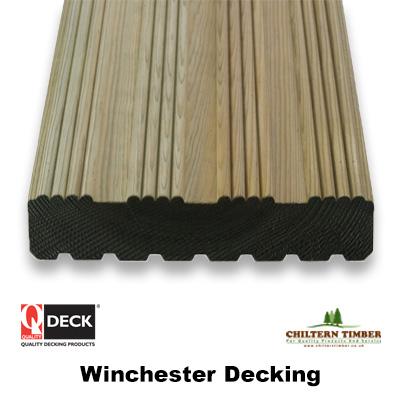 Softwood Decking Winchester Decking 27 X 144mm