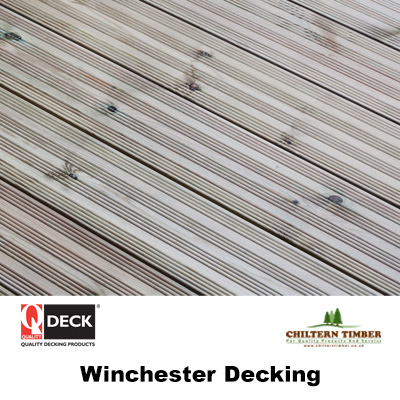 Softwood decking winchester decking 27 x 144mm for Softwood decking boards