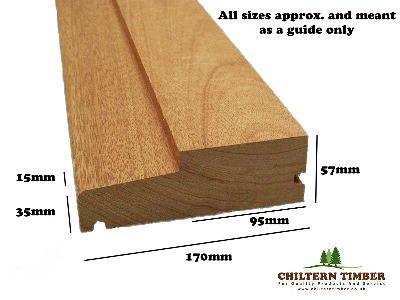 Door Cill Hardwood Step 57 X 165mm Chiltern Timber