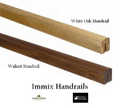 Immix White Oak Amp Walnut Handrails Chiltern Timber