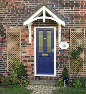 Porch Kit Rippingale Canopy 1090mm Chiltern Timber