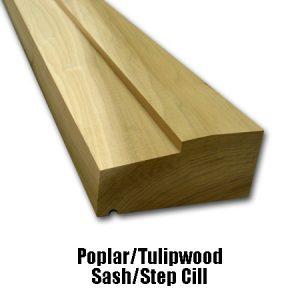 Poplar Step Cill