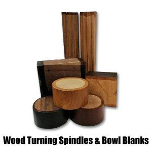 Wood Turning Spindles & Bowl Blanks