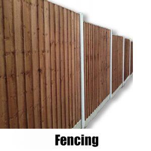 Fencing - Timber & Concrete - Fence Panels & Trellis