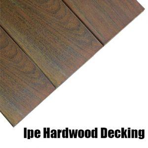 Hardwood Ipe Decking Supplier