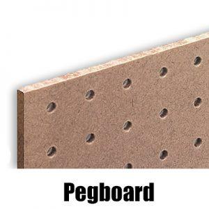 Pegboard/Perforated Hardboard