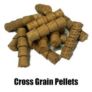 Oak & Hardwood Cross grain Pellets Suppliers