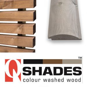 Q-Shades Colour Washed Cladding & Decking