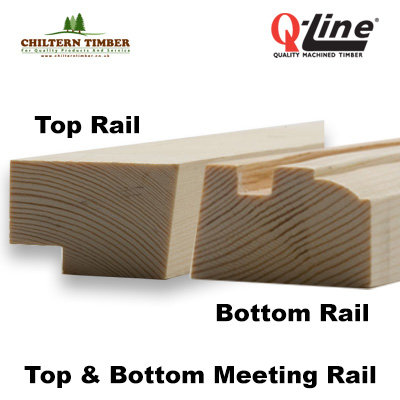 top & bottom rail